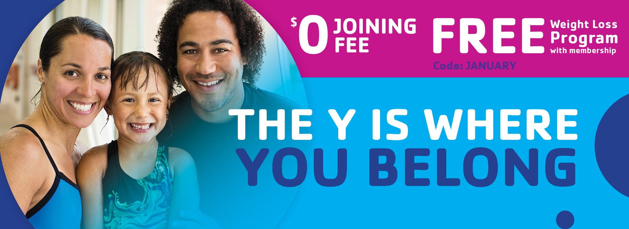 The Y is Where You Belong Join Page Banner