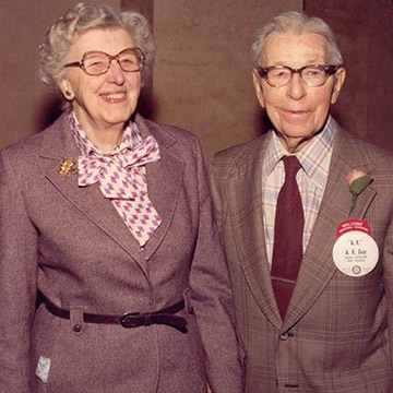 AK and Dorthy Guy