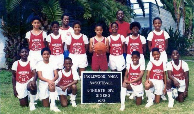 Playing basketball for the Washington Wizards wasn't the first time Paul Pierce and Andre Miller were teammates. In 1989, Paul and Andre were on the same Inglewood YMCA basketball team together.