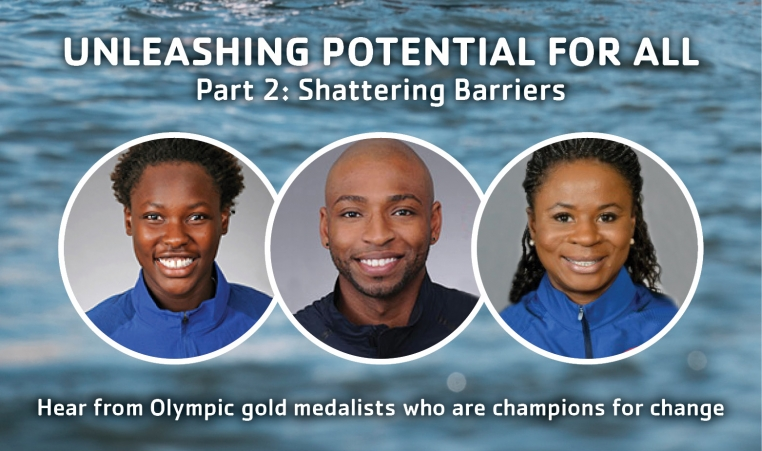 olympic medalist are champions for change