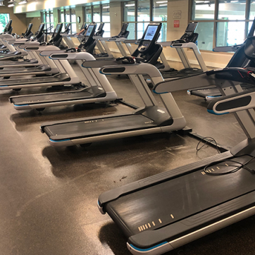 Socially Distanced Treadmills