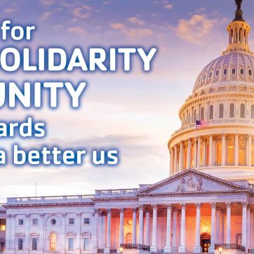 Hope for solidarity and unity towards a better us