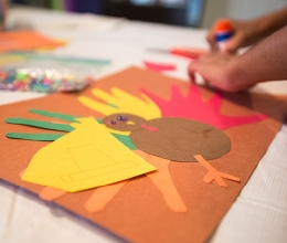 Turkey Hands Kids Art Project